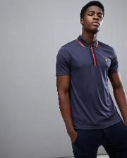 johnstone polo shirt in dark grey