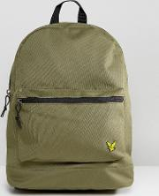 logo backpack in khaki