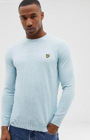 Merino Mix Crew Neck Jumper Light