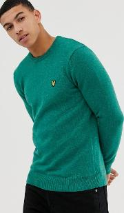 Mottled Crew Neck Jumper