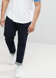 plus slim fit jeans in rinse wash