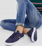 Teviot Twill Cotton Canvas Trainers