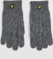 Wool Ribbed Glove