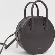 Mini Circle Tote Bag Charcoal