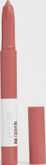Superstay Matte Ink Crayon Lipstick 15 Lead The Way