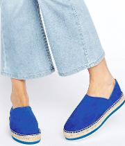 Matilda Leather Espadrille Flats