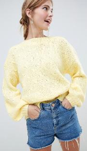 Moves By Balloon Sleeve Jumper
