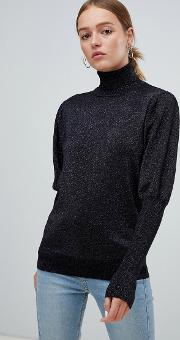 Moves By Leg Of Mutton Sleeve Jumper