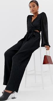 Moves By Tie Waist Trousers