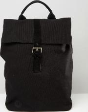 mi pac canvas backpack in black