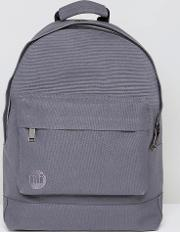 mi pac canvas backpack in charcoal