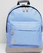 Mi Pac Classic Backpack In Cornflower Blue With Contrast Grey