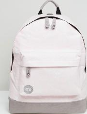 Mi Pac Classic Backpack In Pink Splatter