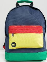 mi pac mini backpack  colour block