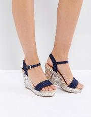 Paulina Wedge Sandal