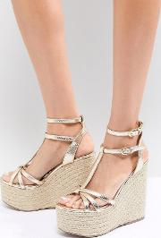 Rope Super Stacked Wedge