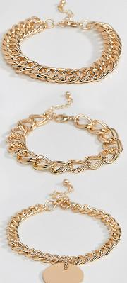Exclusive Chunky Chain Bracelet Multipack