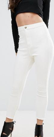 Vice High Waisted Ankle Grazer Super Stretch Skinny Jean