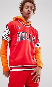 nba chicago bulls t shirt in red