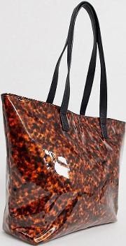 London Exclusive Tortoiseshell Tote Bag