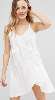 swing dress with low back