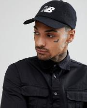 embroidered logo baseball cap in black 500173 000