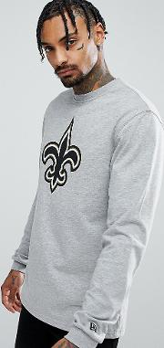 Orleans Saints Long Sleeve  Shirt Exclusive To Asos