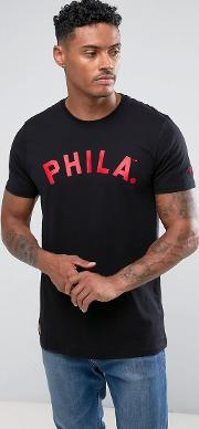 philadelphia phillies t shirt with arch logo