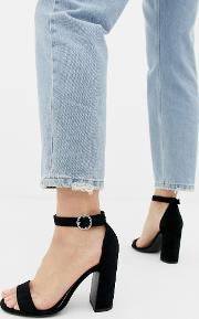 Barely There Heeled Sandal