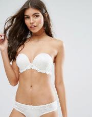 bridal satin and lace boost multiway bra