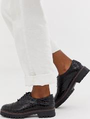 Chunky Lace Up Brogue