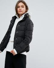 fitted padded jacket