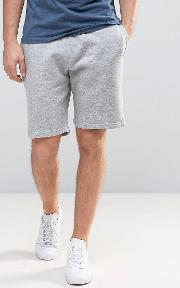 Jersey Shorts In Grey