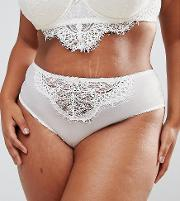 New Look Curve Bridal Sheer Lace Brief