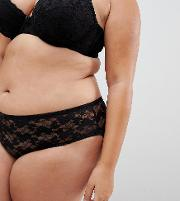 New Look Curve Essentials Lace Brazilian Brief