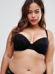 New Look Curve Essentials Lace Padded Bra