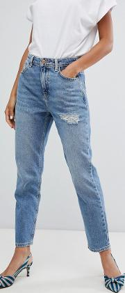rome ripped mom jean