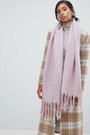 scarf in lilac