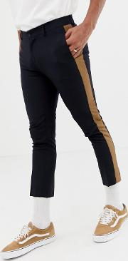 Smart Trousers With Side Stripe