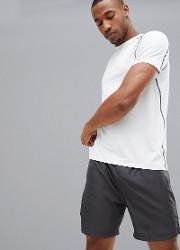 sport stretch  shirt in white