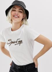 Tee With Spice Slogan