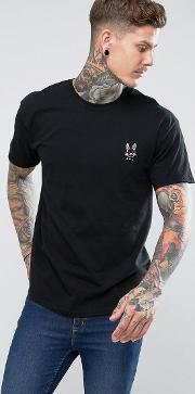 Embroidered Evil Bunny T Shirt
