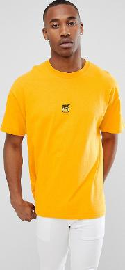 embroidered honey t shirt