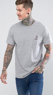 embroidered kitty skate  shirt