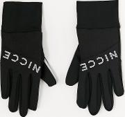 Gloves With Reflective Logo