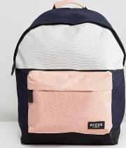 nicce backpack with pink panels