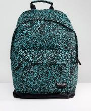 nicce noise backpack in black