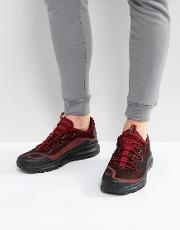 air max more trainers  red 898013 600