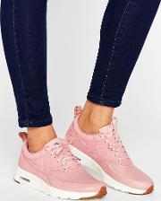 air max thea basket weave trainers  pink