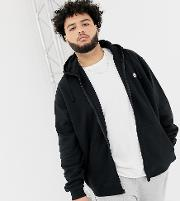 Club Swoosh Zip Through Hoodie